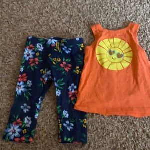 Other - 1 pair of capris and a sleeveless top